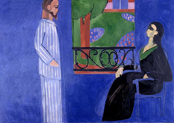 Анрі Матісс «Розмова» (1912)