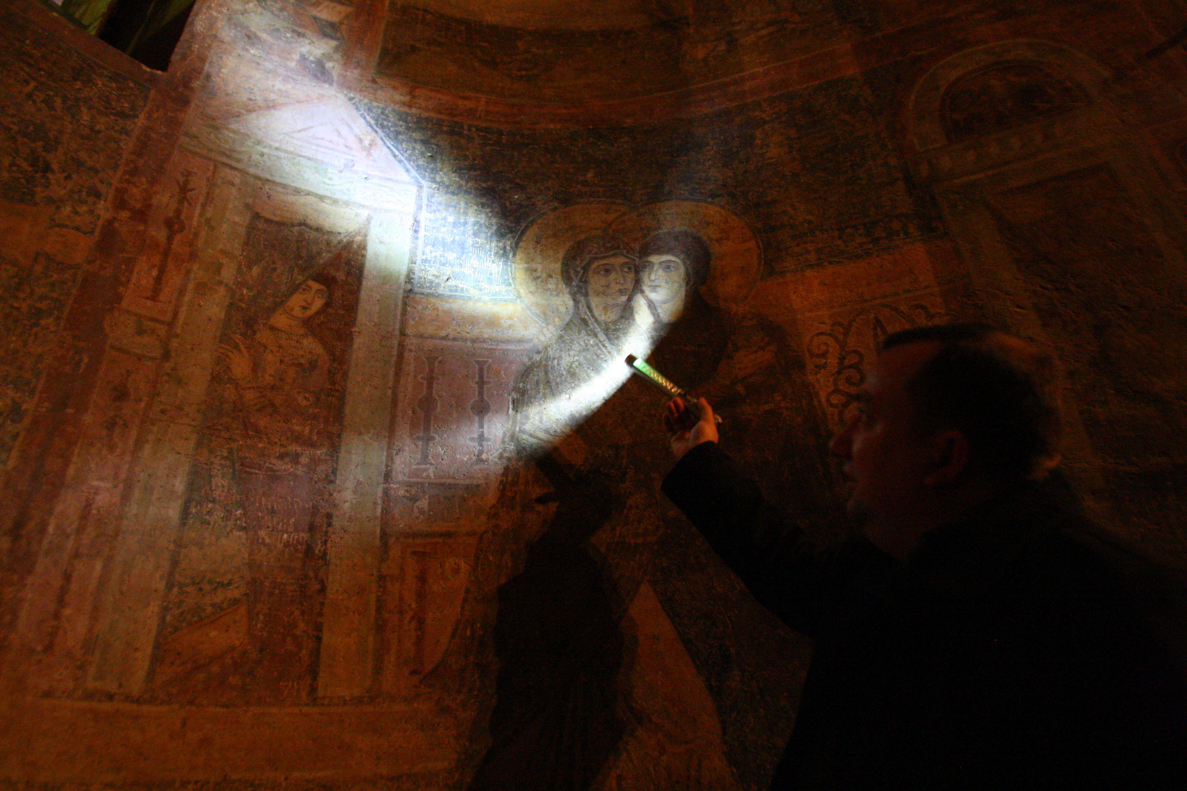 Дослідження ґрафіті у Софійському соборі в Києві