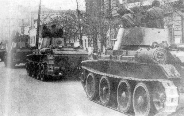 Радянська армія входить у львів